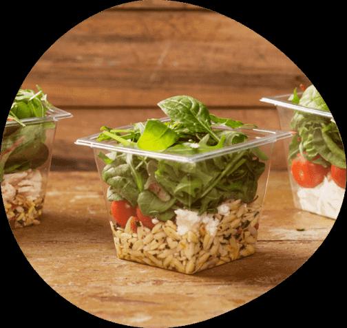Produtcs - Pre-packed Salads